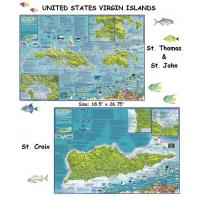 Quality US Virgin Islands (Laminated) for sale