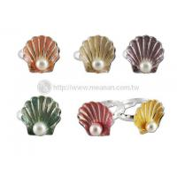 Quality Seashell Pearl Ring for sale