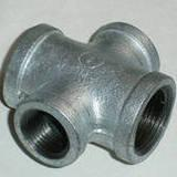 Pipe Fittings-Reducing Cross