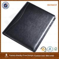 Wholesale artificial leather conference folder from china suppliers