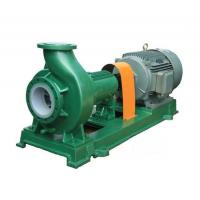 Quality IHF series chemical centrifugal pump fluorine plastic alloy for sale