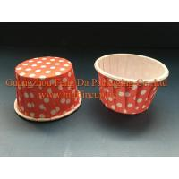 Quality Red Polka Dots Baking Cup for sale
