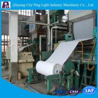 Manufacture of 1092mm Toilet Tissue Paper Production Line Made from Rice Straw/Reed