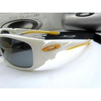 Quality Oakley Scalpel OO9095-05 Original Polarize Sunglasses In White Mix Yellow for sale