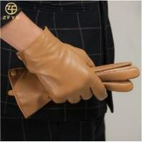 Quality Men stylish cheap leather gloves in europe for sale