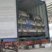 Quality The corrugated steel culvert pipe in cotaniner ready for ship for sale