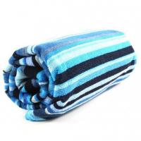 Quality 100% cotton reactive printed beach towel for sale