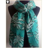 Cocos nucifera L scarf, super fashion sky color