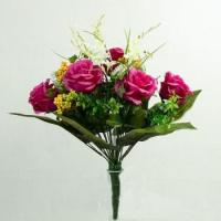 Wholesale 24 heads high quality rose lover flower bouquets SZZ-0040 from china suppliers