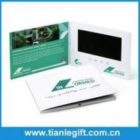 Quality Advertising promotional product 7 inch tft lcd video brochure for sale