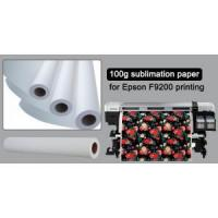 Quality 100gsm Sublimation Paper for Epson F9200 Printing for sale