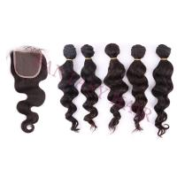 5bundles/lot Fantasy hair best virgin hair silky straight can be curled