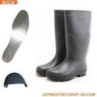 Quality pvc no lace safety boots for sale