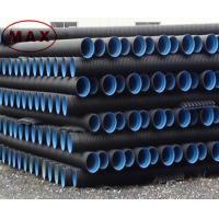 Wholesale Material pe 100 black double wall corrugated pipe from china suppliers