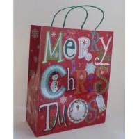 Quality Paper Bags Merry Christmas Gift Paper Tote Bag for sale