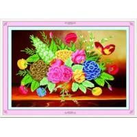 Quality 5d DIY Diamond painting coloful flower home decoration accessories for sale
