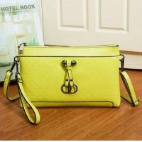 Quality 2015 Spring summer style wholesale fashion printed real leather women's clutch bags made in china for sale