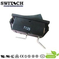 Quality R11-51SW1BB good quality paddle switch SPST 2 pins T125 rocker switch for sale