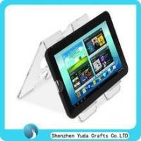 Quality double sides acrylic laptop holder clear acrylic PAD riser for sale