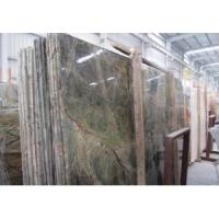 Wholesale Top Quality Natural Rain Forest Green Marble Slab from china suppliers