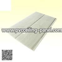 Wooden design false plastic ceiling
