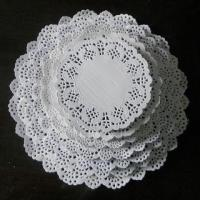 Wholesale Wholesaler Round White Paper Doilies for Party Decoration from china suppliers