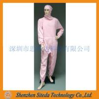 Quality STD Anti-static crotch Zip Hooded Jumpsuit Welcome to order for sale