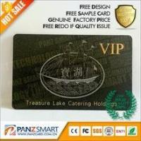 Wholesale SMART CARD PRODUCT LOGO gold embossed hot stamping golden hot foil stamped VIP cards from china suppliers