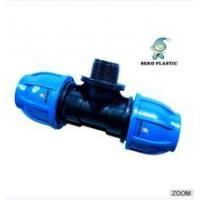 """Quality 20mm*1/2""""-110mm*4""""pp fitting male tee irrigation pipe fittings for sale"""