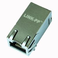 Quality ARJ11F-MASF-AB-A-FL2 RJ45 10/100/1000 Base-T Jack With Magnetic Module for sale