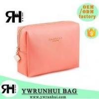 Quality Wholesale Latest Designer PU Leather Cosmetic Bag Promotional for sale