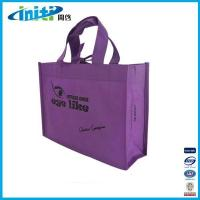 2015 PP woven bag with punch hole handle for promotion