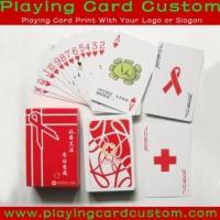 Wholesale Customized Paper Playing Cards from china suppliers