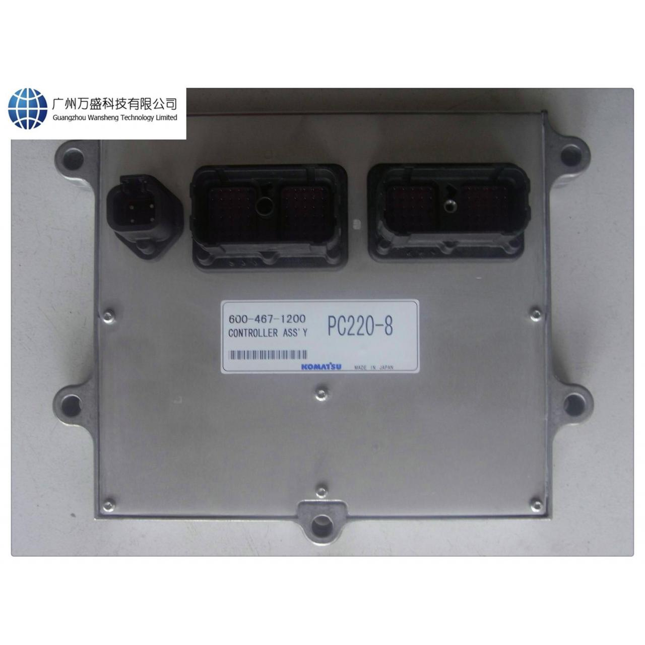 Quality 600-467-1200 Komatsu PC220-8 Controller Ass'y Engine Control Computer for sale