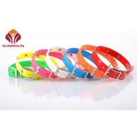 Quality Title:Durable tpu coated webbing dog collar for sale