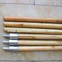 Quality Varnished woodstick with metal thread for sale