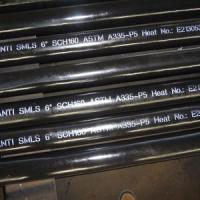 Wholesale Seamless Steel Pipe Alloy Steel Seamless Pipe, ASTM A335 P5, PE from china suppliers