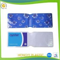 Quality STATIONERY pvc oyster card holder for sale