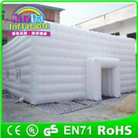 Quality Giant inflatable cube tent for sale