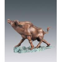 Quality Animal sculptures bull-fighting for sale