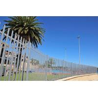 Commercial properties pressed spear top tubular fence for Australia market