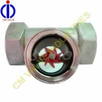 Quality Sight Glasses Flow Indicator with impeller for sale